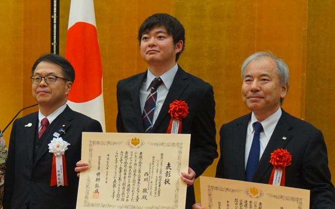 Preferred Networksとファナック、第3回日本ベンチャー大賞において経済産業大臣賞(ベンチャー企業・大企業等連携賞)を受賞
