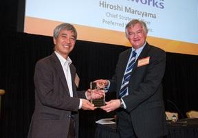 2017 Japan-U.S. Innovation Awardsにて「Emerging Leader Award」を受賞
