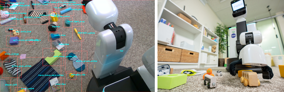 CEATEC Japan 2018でパーソナルロボットシステムを初公開、全自動お片付けロボットシステムを展示