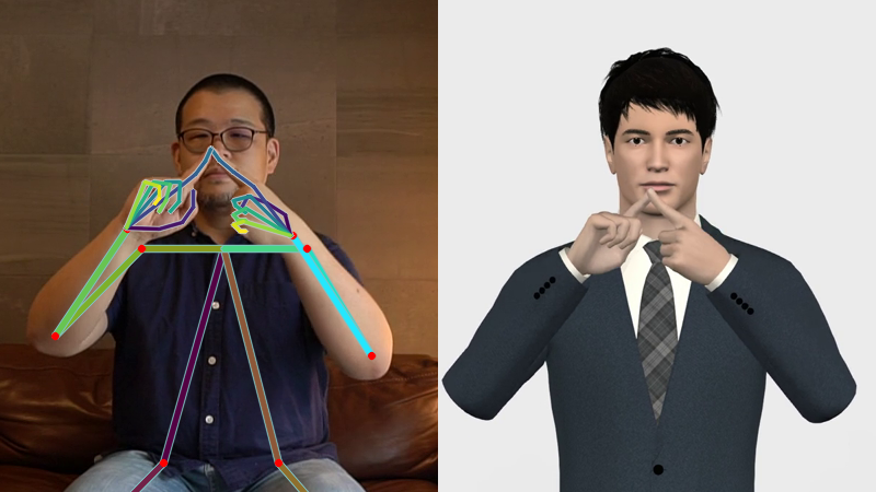 PFN Develops Precise 3D Pose Estimation Technology That Recognizes Finger Positions and Overlapped Hands